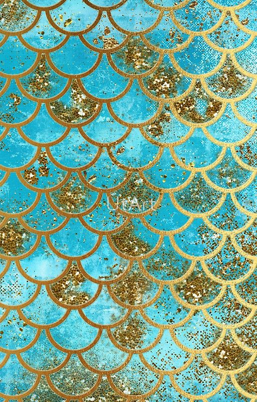Teal Gold Glitter And Blue Sparkle Faux Glitter Mermaid Scales S6gtp Blue Glitter Wallpaper Glitter Wallpaper Mermaid Wallpapers