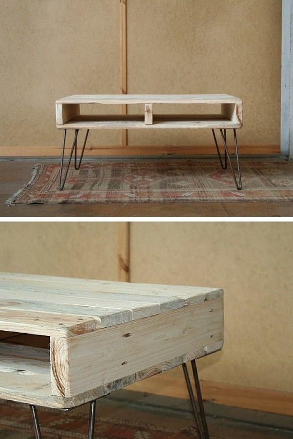 id es table basse palette. Black Bedroom Furniture Sets. Home Design Ideas