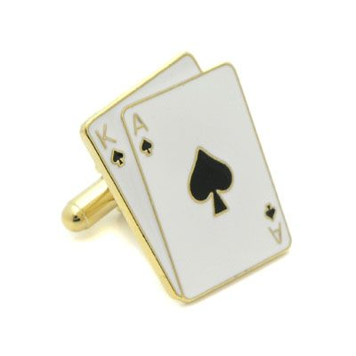 King and Ace Cufflinks