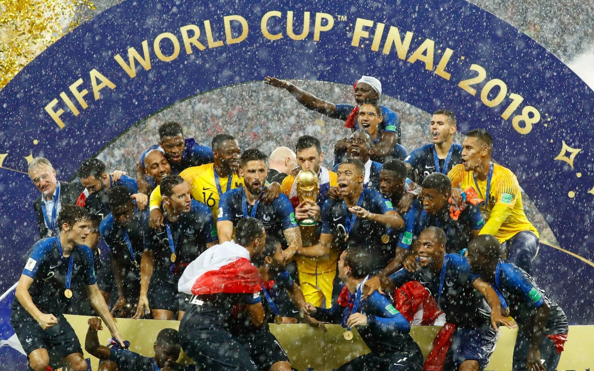 France Win World Cup 2018 Final In Breathless Six Goal Thriller Against Croatia World Cup Final 2018 World Cup Final World Cup