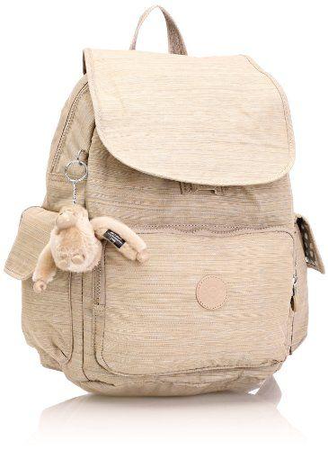 22ec0739179 Kipling Women's City Pack B Backpack One Size Dazzling Beige Kipling  http://www