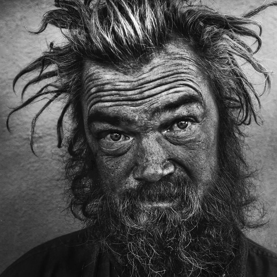 Homeless People Portraits Photography By Lee Jeffries: Project Of Photographer Lee Jeffries Called LOST ANGELS