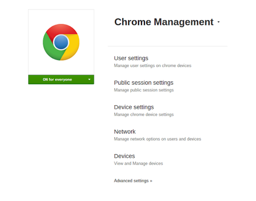 Google Chrome Management Console, Education Perpetual