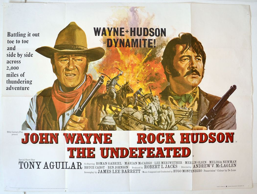 The Undefeated 1969 Film | THE UNDEFEATED"