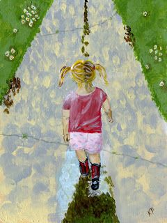 Kali Parsons...finding bliss...one creation at a time: Pigtails and Puddles 2
