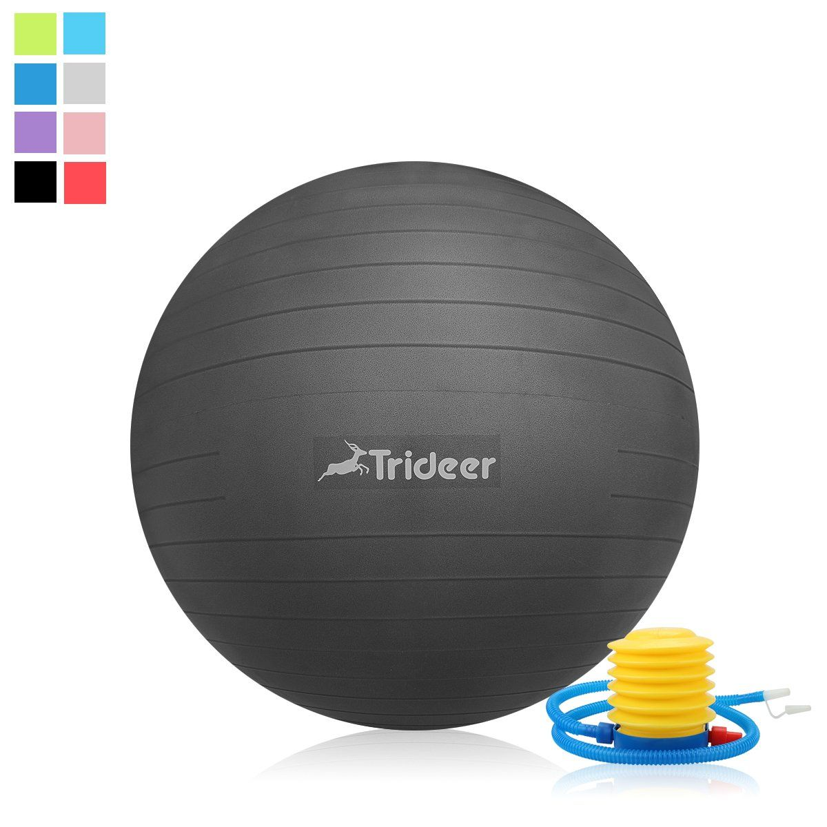 Trideer Exercise Ball 4585cm EXTRA THICK Yoga Ball Chair