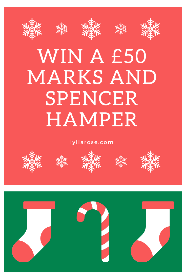 Blog Giveaway Win A 50 Marks And Spencer Christmas Hamper With
