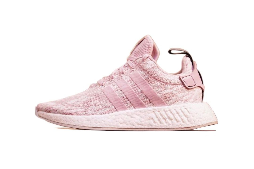 f59c070677c1 A new pink edition for Adidas NMD R2 this summer. The shoe features a few  variations of pink