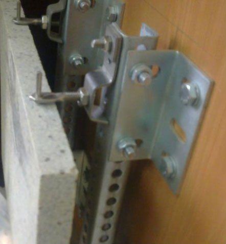 304 U Profile For Stone Cladding Stone Cladding Fixing