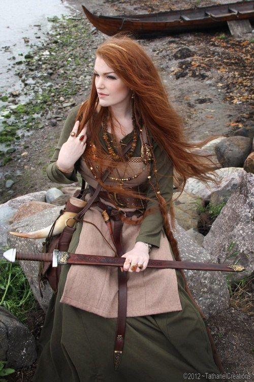 Not sexy celtic farm girl
