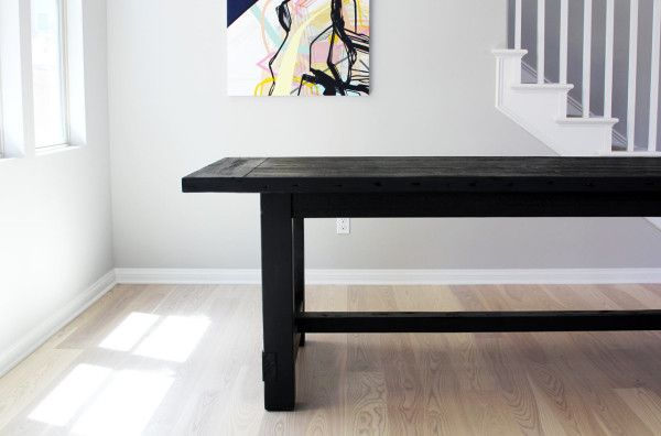 The Most Awesome Dining Table Ever + Imperfection | Wood table ...