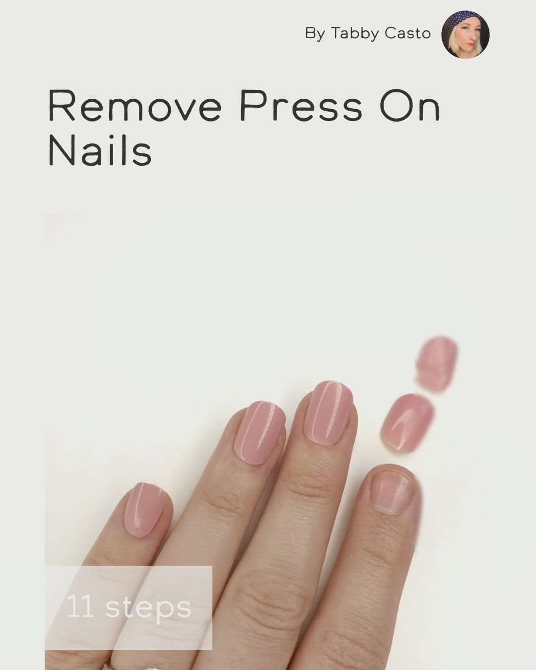 Remove Press On Nails Video Video In 2020 Press On Nails Best Press On Nails Manicure At Home