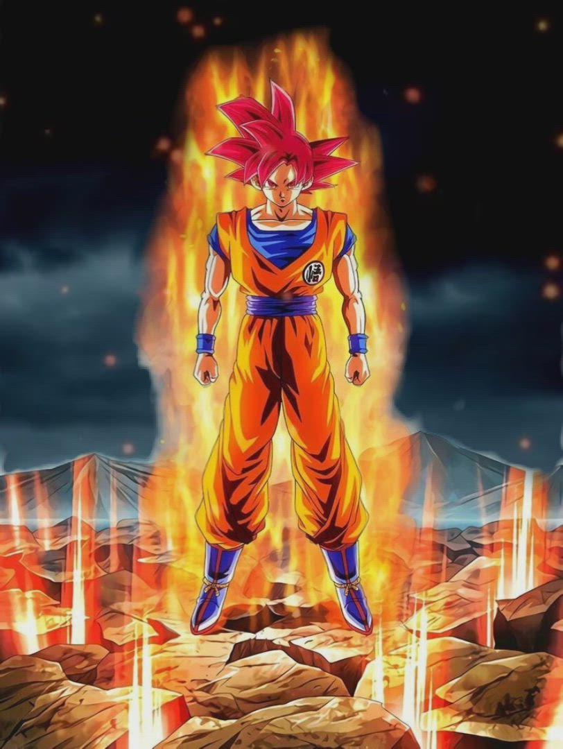 Goku Super Saiyan God Live Wallpaper Video In 2021 Dragon Ball Super Artwork Dragon Ball Super Wallpapers Dragon Ball Wallpaper Iphone Anime live wallpapers goku