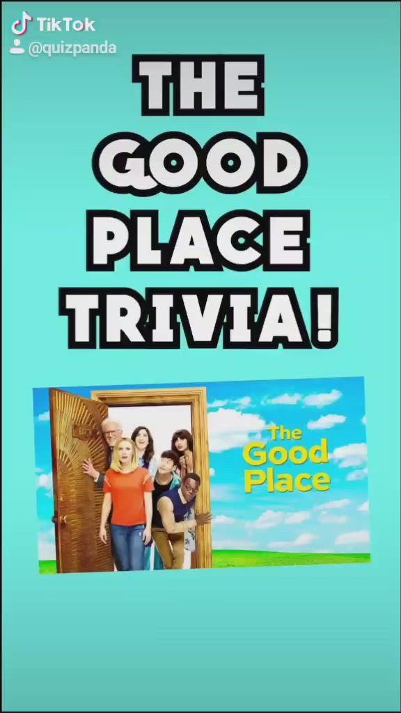 Video The Good Place Trivia Film Netflix Program Tv