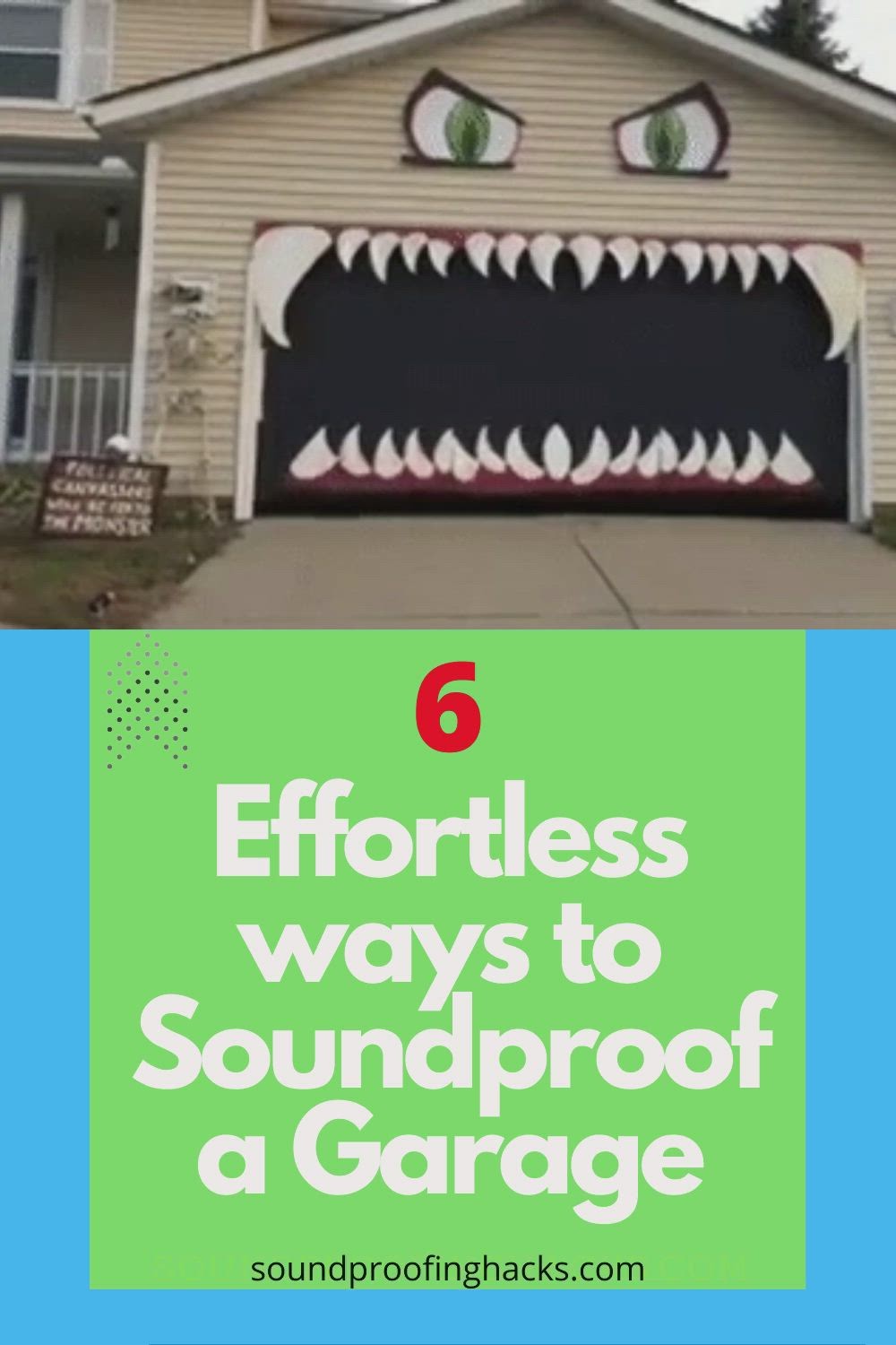 How To Soundproof A Garage It Is Not As Hard As You Think Video In 2020 Sound Proofing Home Improvement Projects Soundproofing Diy