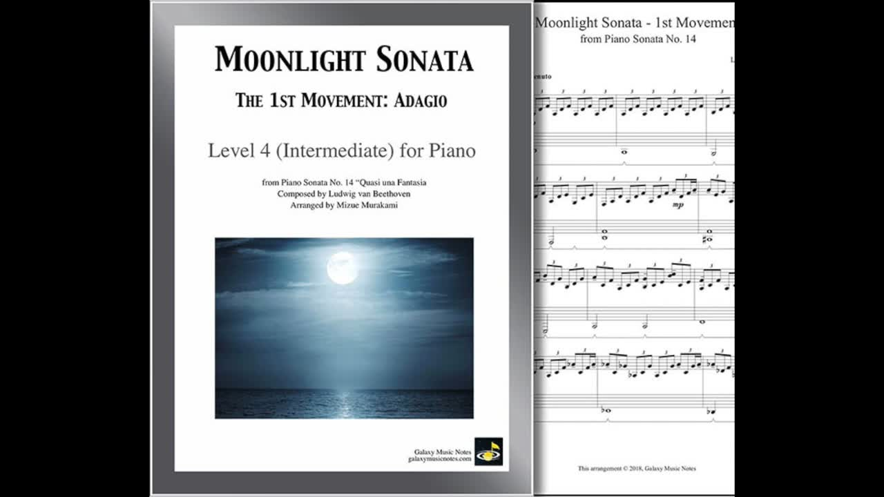 Pin On Level 4 Intermediate Piano Sheet 1st Page Cover