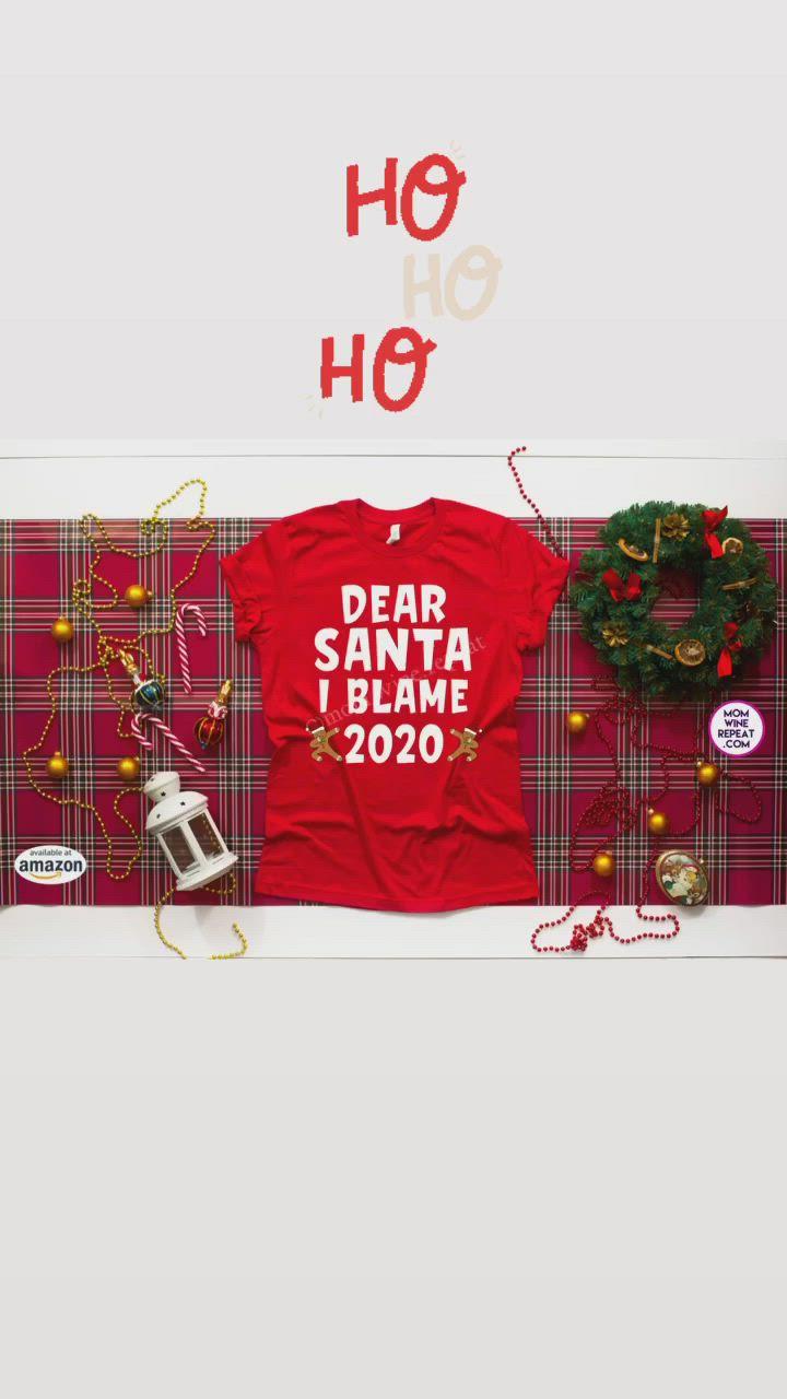 Dear Santa Shirts For Kids 2020 Christmas Video In 2020 Family Christmas Shirts Diy Christmas Gifts Christmas Shirts For Kids