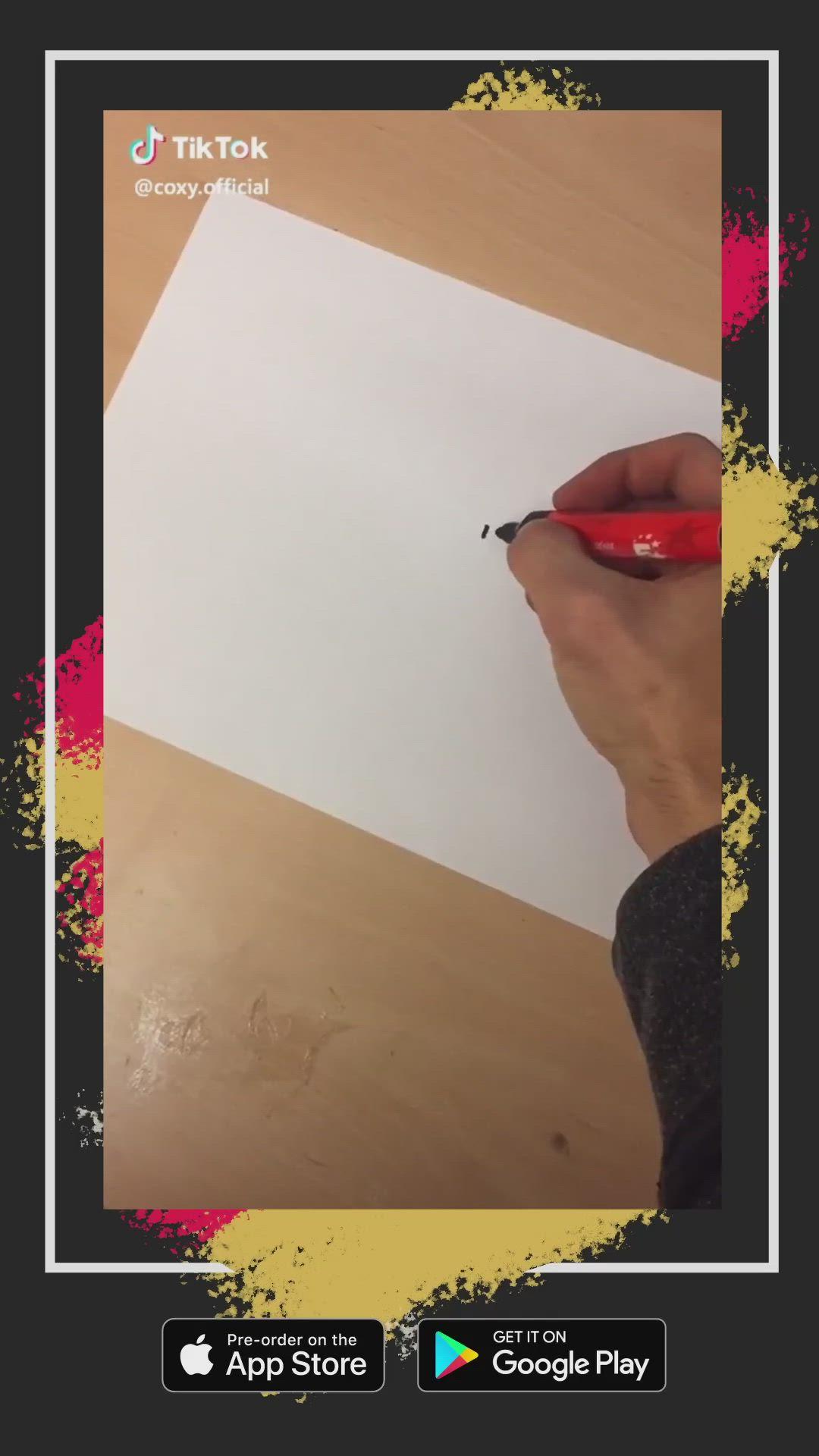Tiktok Moving Dynamic Art Video Art And Craft Videos Memes Oddly Satisfying Videos