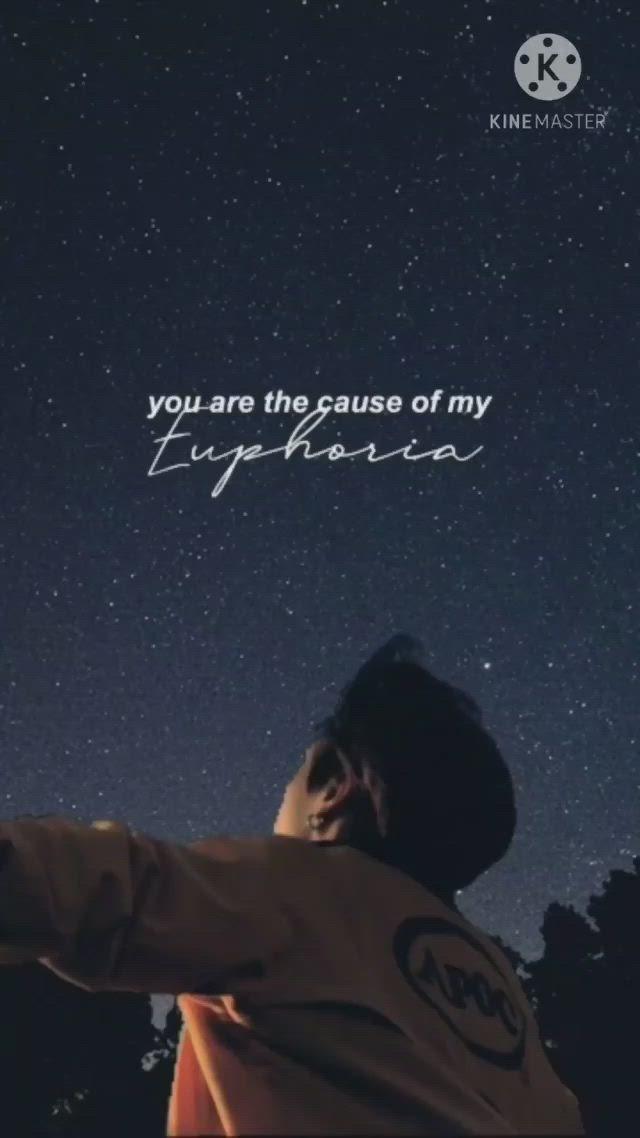 You Re The Cause Of My Euphoria Video In 2021 Bts Wallpaper Lyrics Bts Lyric Bts Book