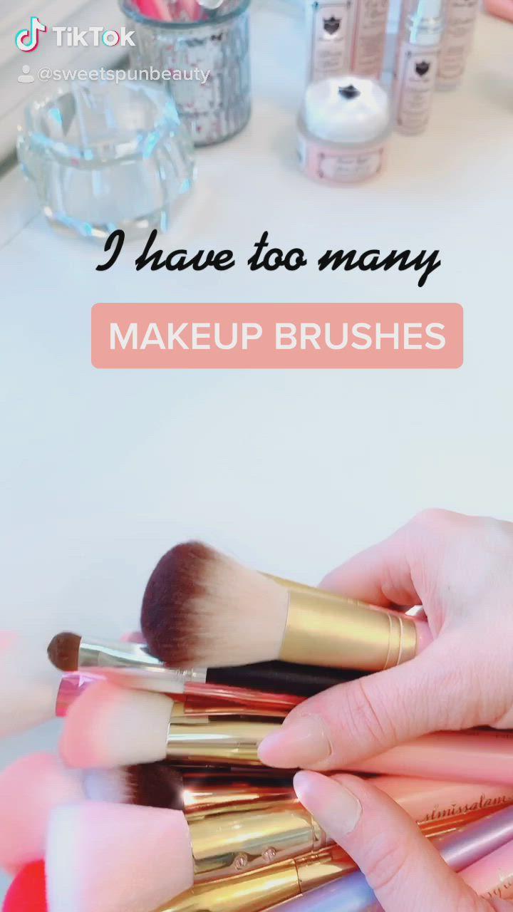 Makeup Brushes Video Makeup Brushes Makeup Vanity Makeup Inspiration
