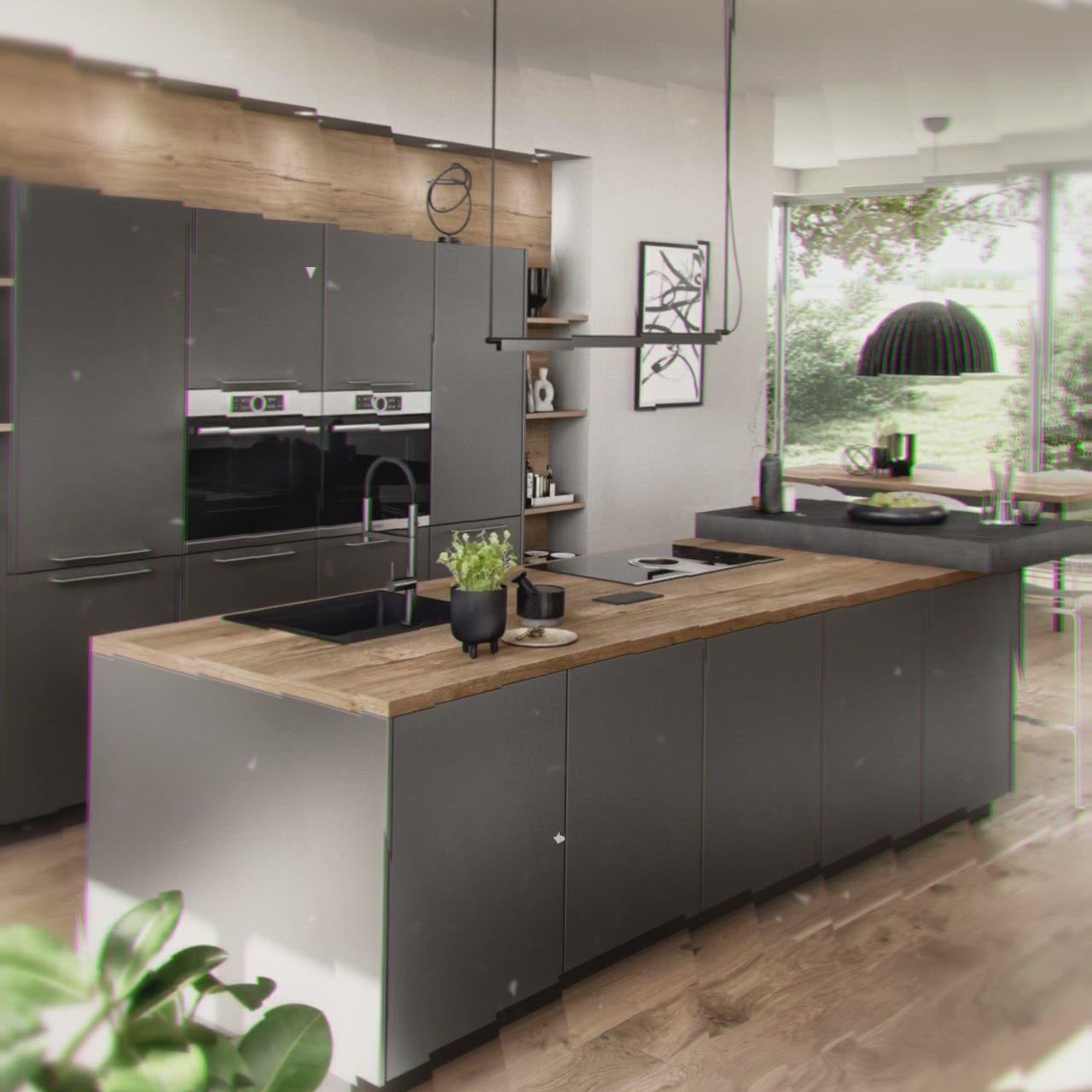 Kitchen Design [Video] in 9   Modern kitchen design, Kitchen furniture  design, Interior design kitchen