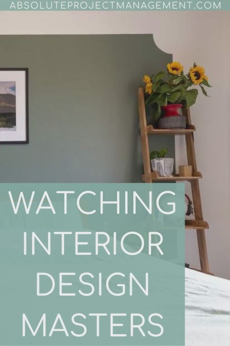 Watching Interior Design Masters Absolute Project Management Video In 2021 Interior Design Masters Interior Design Programs Interior Design
