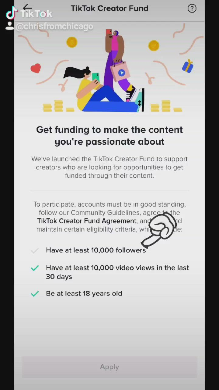 Pin By Kasey On Tiktok Creator Fund Accounting Information Participation Congratulations
