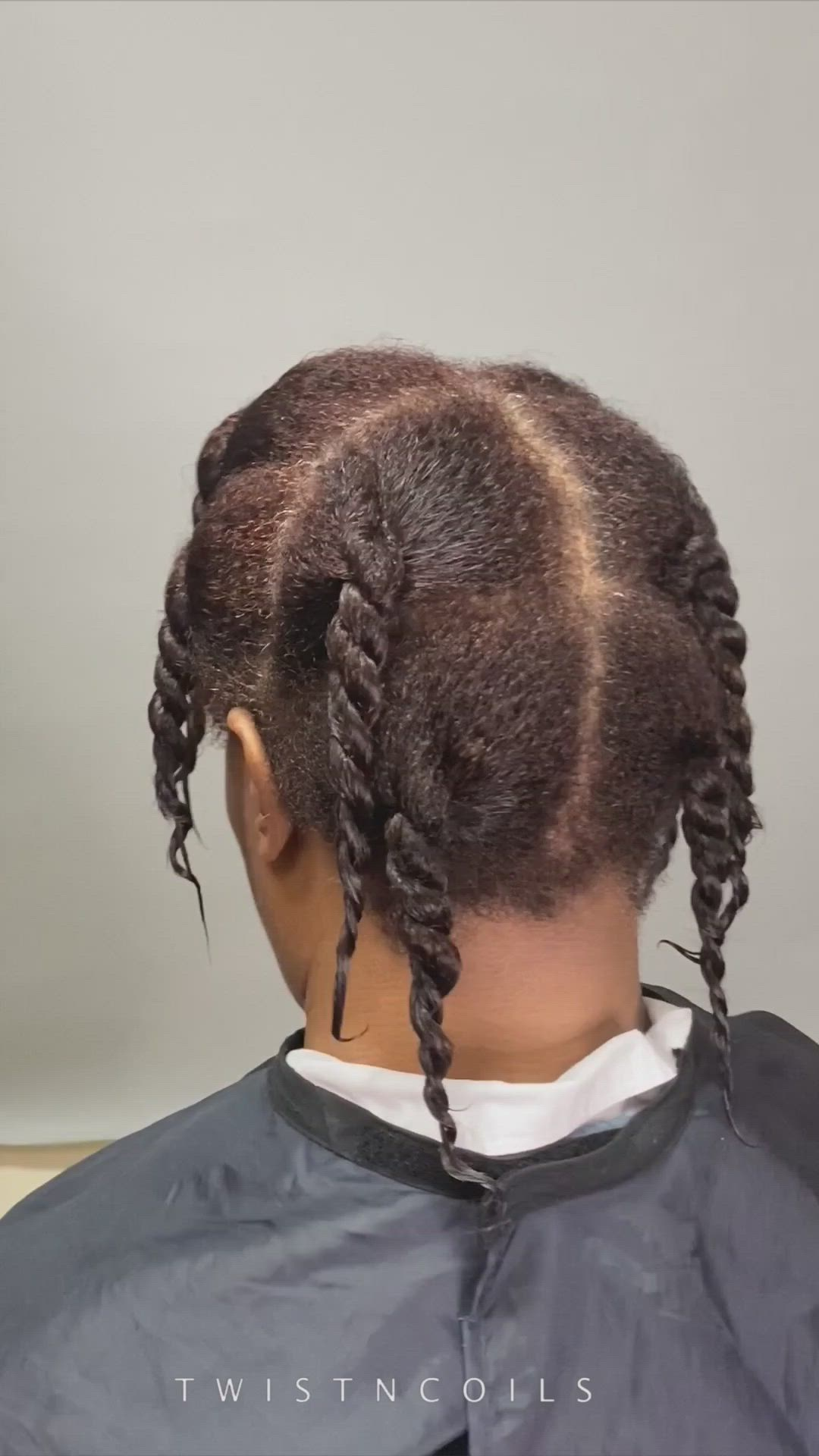 17++ Off scalp plaits ideas