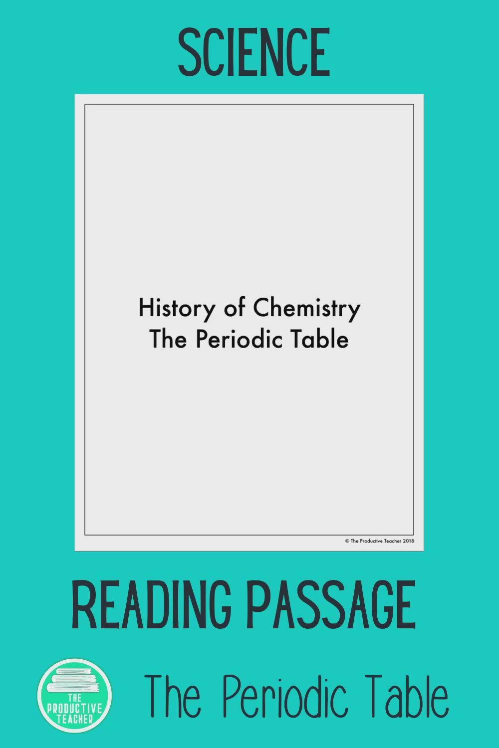 Periodic Table Reading Passage Video Reading Passages Science Reading Science Reading Passages [ 1500 x 1000 Pixel ]