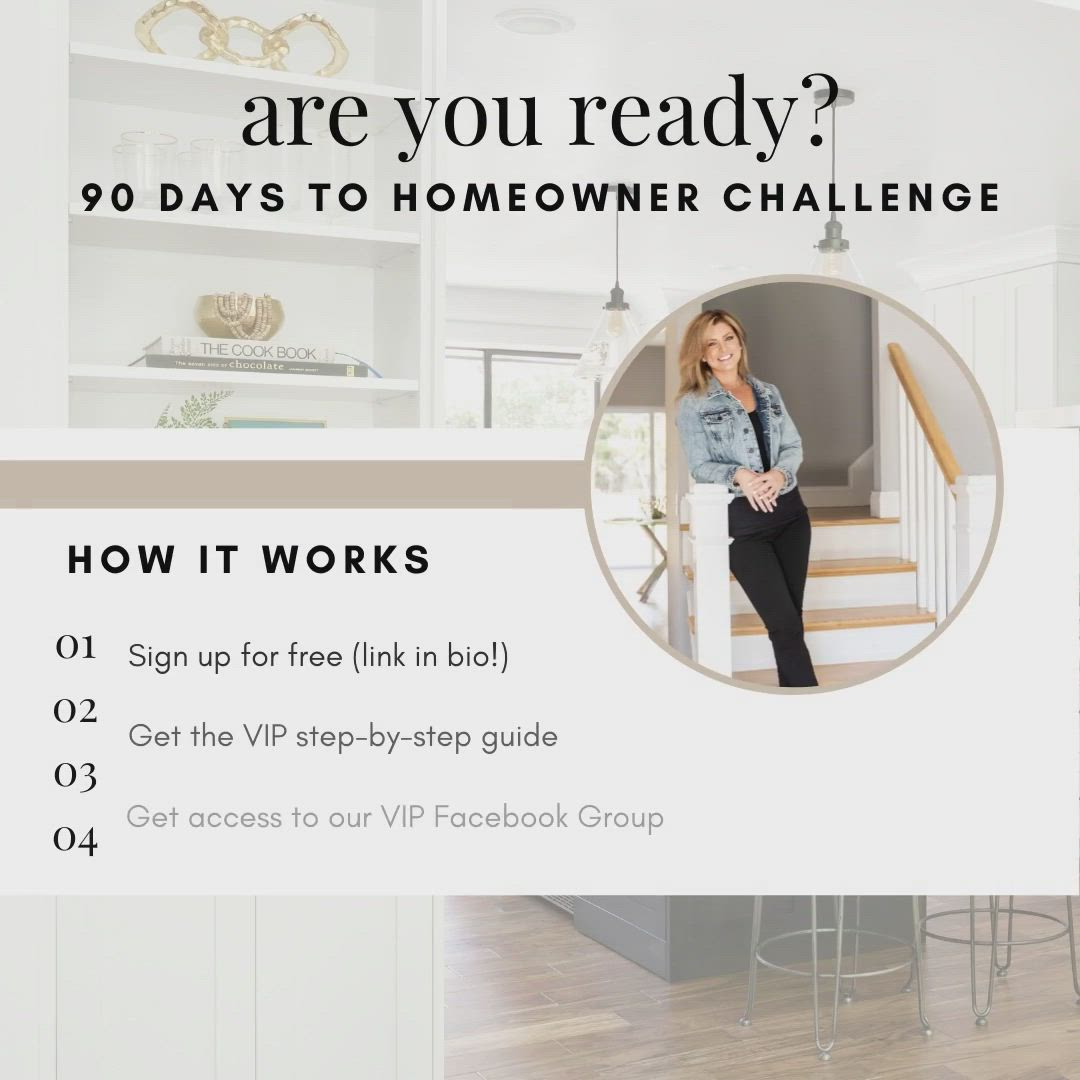 Want To Know More For The Second Day Of Our 90 Days To Homeowner Challenge We Re Talking About What The Process Looks Like And Video In 2020 Home Buying Design Home Decor