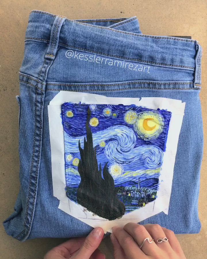 The Starry Night By Vincent Van Gogh Is Always One Of My Favorites