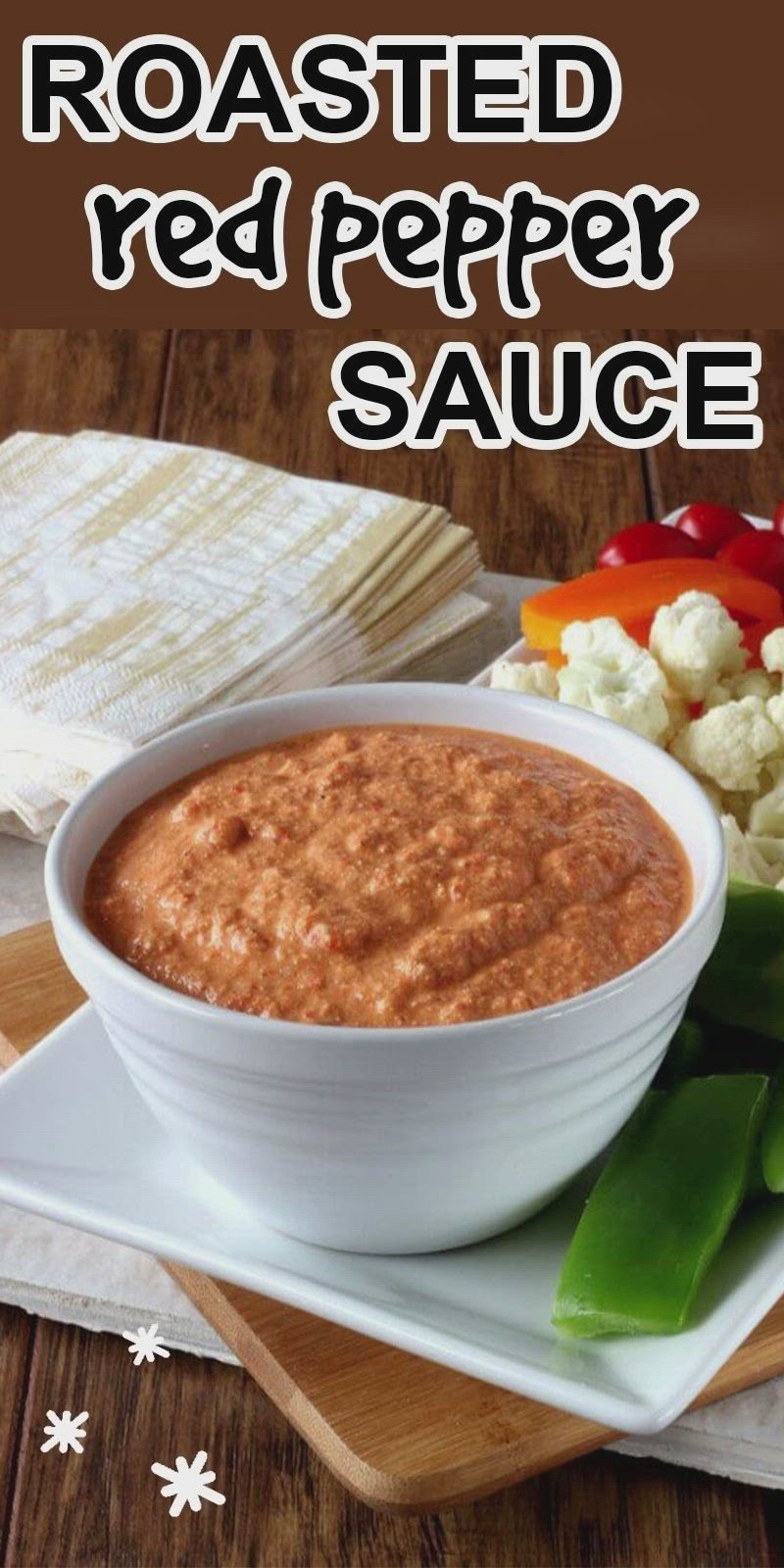 Roasted Red Pepper Sauce Dip Video In 2021 Vegan Recipes Healthy Appetizers Recipes Roasted Red Pepper Sauce [ 1600 x 800 Pixel ]