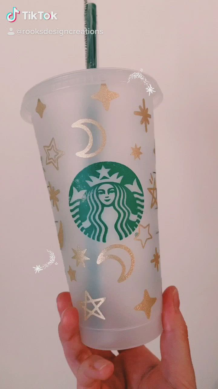 Cold Cup Starbucks 24 oz Star svg Colored Star Starbucks Starbucks Full Wrap 24 oz Clored Star svg Colored Star Starbucks svg