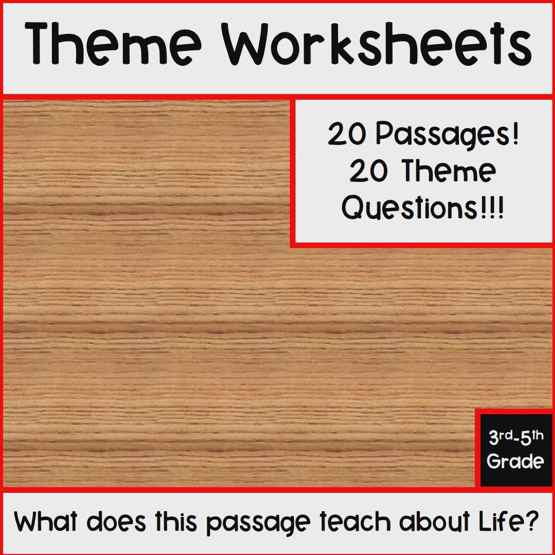 Theme Worksheet Video Teacher Resources Reading Skills Reading Intervention [ 1080 x 1080 Pixel ]