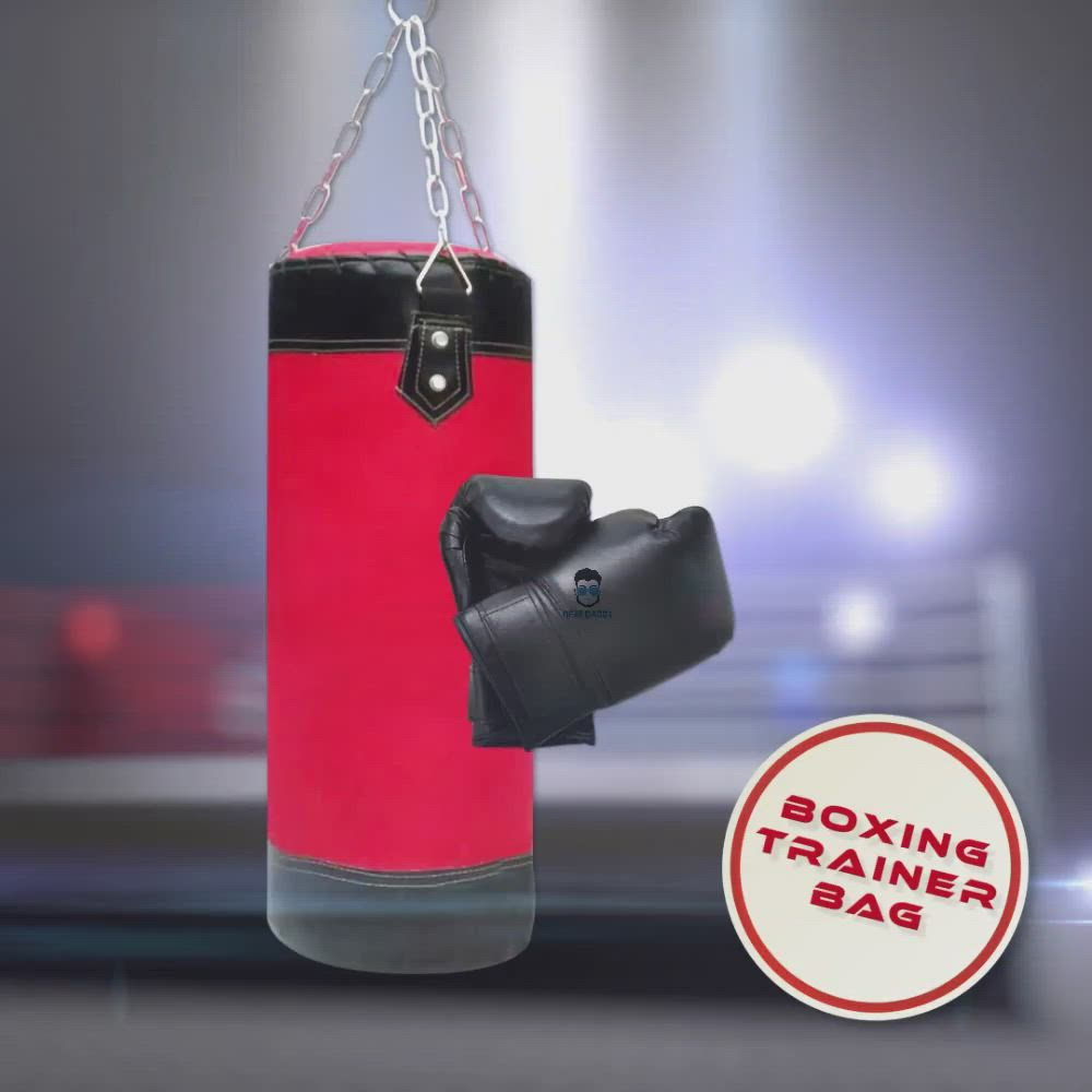 Boxing Trainer Bag Video Video In 2020 Boxing Trainers Kickboxing Training Trainer Bags