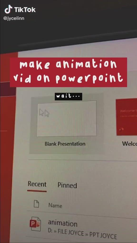 Video Tutorial On Animation Using Powerpoint Ilmu Komputer Kiat Belajar Sains Komputer