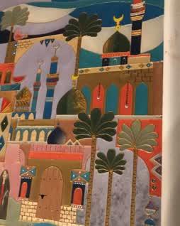Baghdadiat شناشيل بغداديات Art Painting Islamic Art Middle Eastern Art