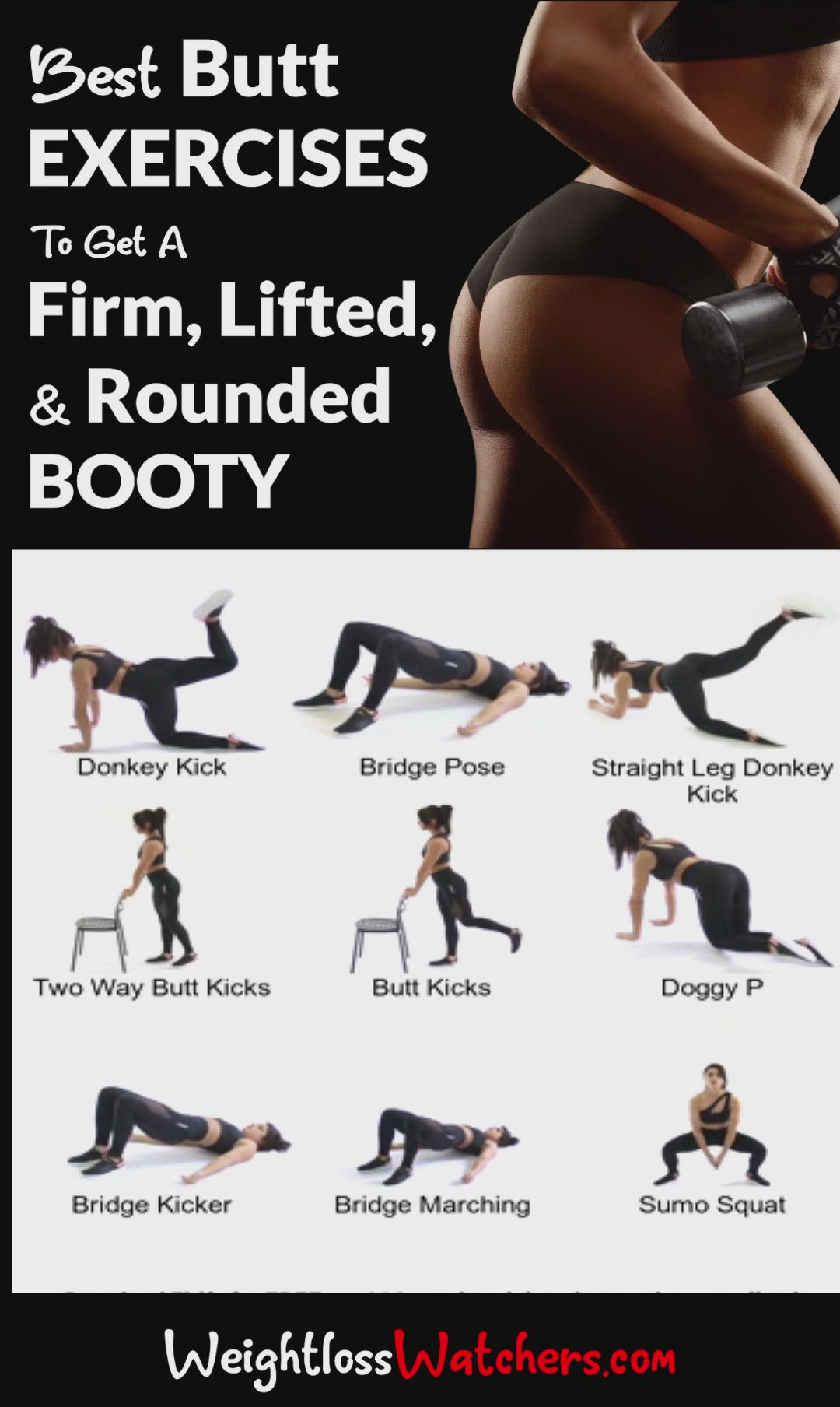 Grow a booty and tone legs
