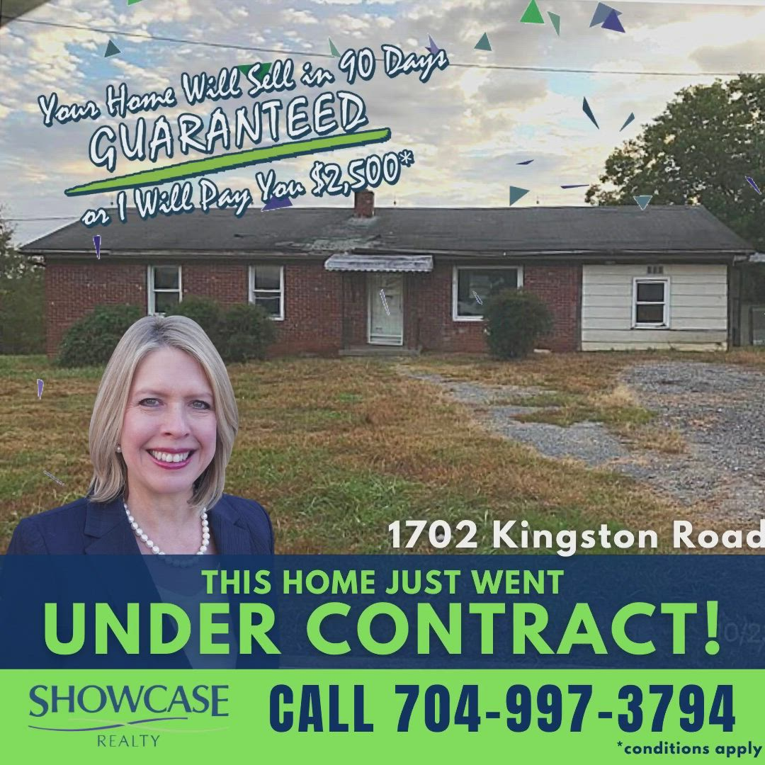 Under Contract In Shelby Video In 2021 Realty Contract House Hunting