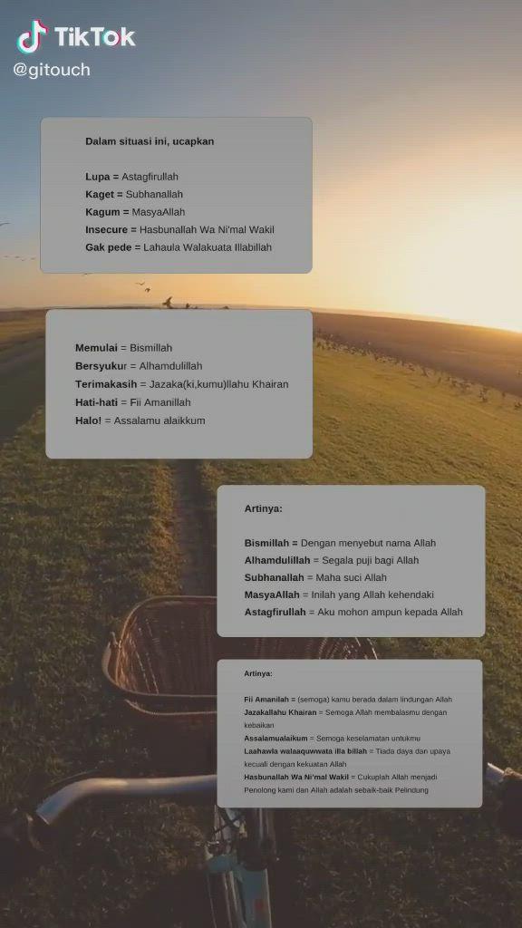 Arti Masyaallah Dan Subhanallah : masyaallah, subhanallah, Video], Rayhana, Islami, Vidio, Kutipan, Agama,, Pelajaran, Hidup,, Kitab, Allah