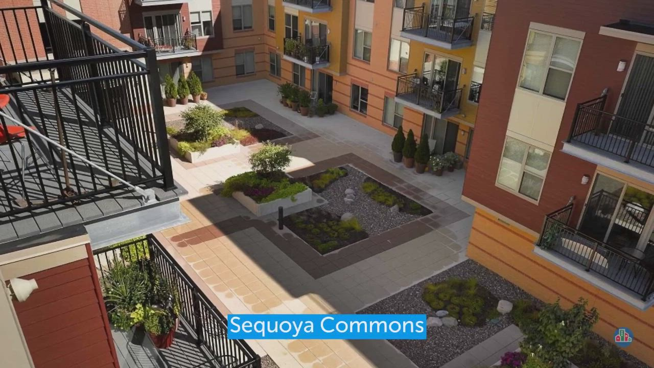 Sequoya Commons Video In 2021 Trees Top View Apartment Mansions