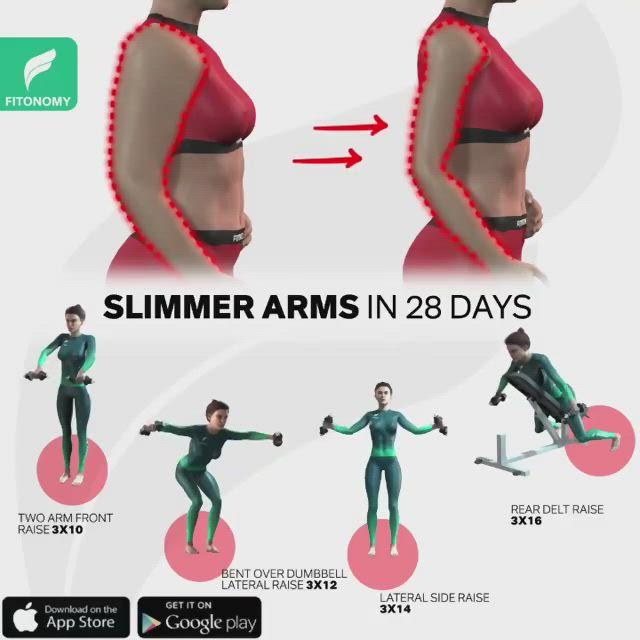 slimming arms app