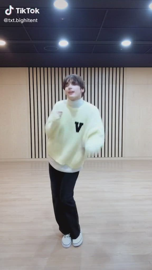 Txt On Tiktok Video Dance Music Txt K Pop Music