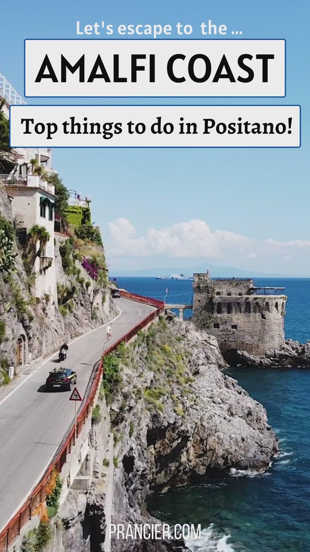 How To Get Around Amalfi Coast Without A Car