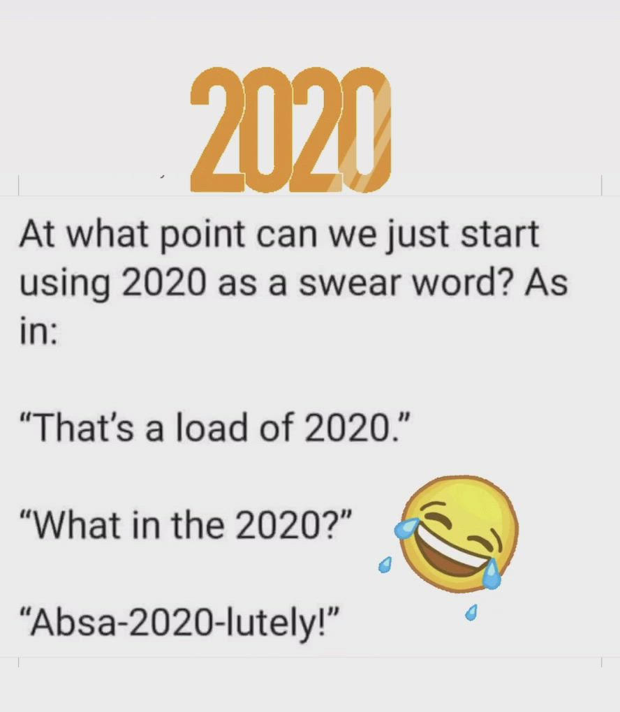 2020 As A Swear Word Video In 2020 Funny Facts Funny Captions Funny Moments