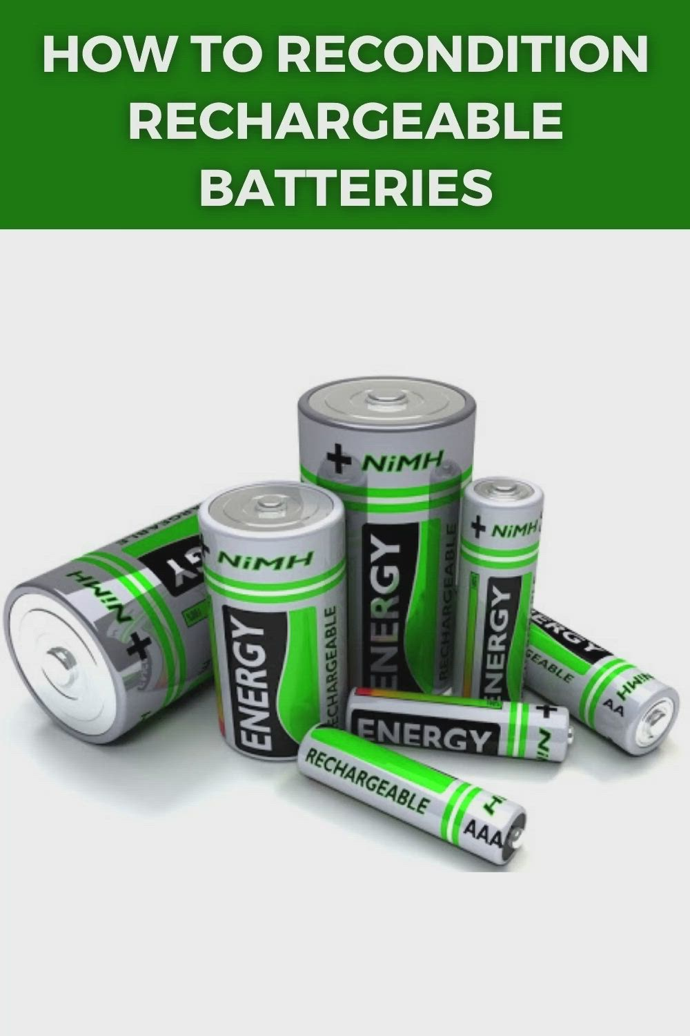 Pin On Battery Reconditioning Methods