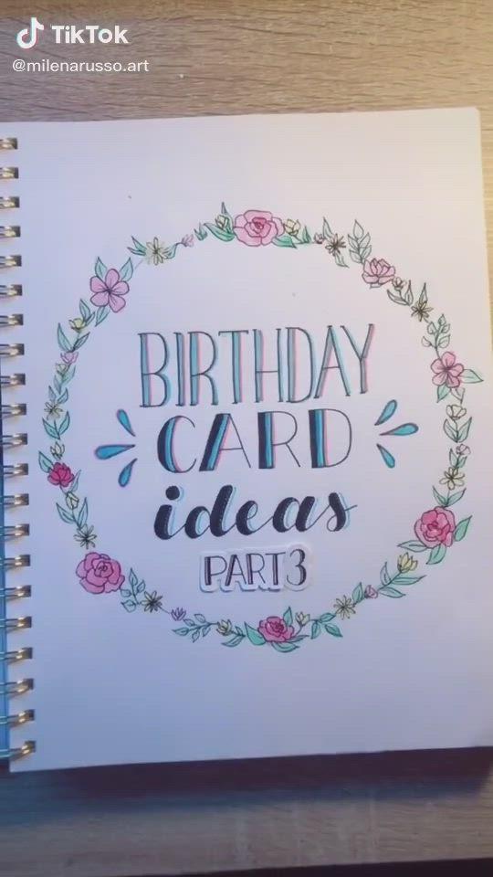 Video Birthday Card Idea Kartu Ulang Tahun Buatan Tangan Harapan Ulang Tahun Ide Hadiah