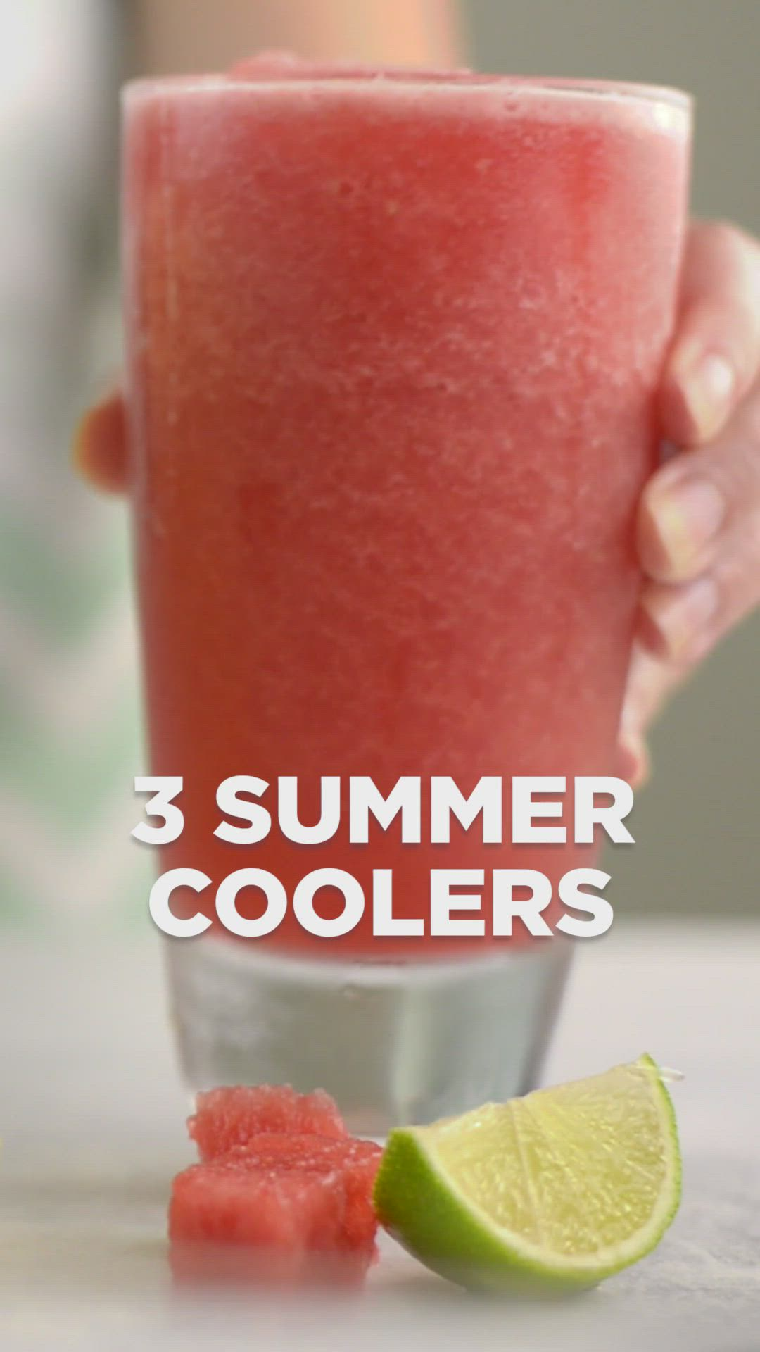 3 Refreshing Summer Coolers Video Recipe Video Homemade Drinks Healthy Drinks Smoothies Healthy Drinks Recipes