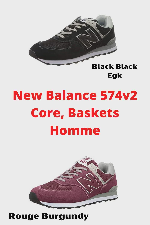 new balance 574v2 rouge