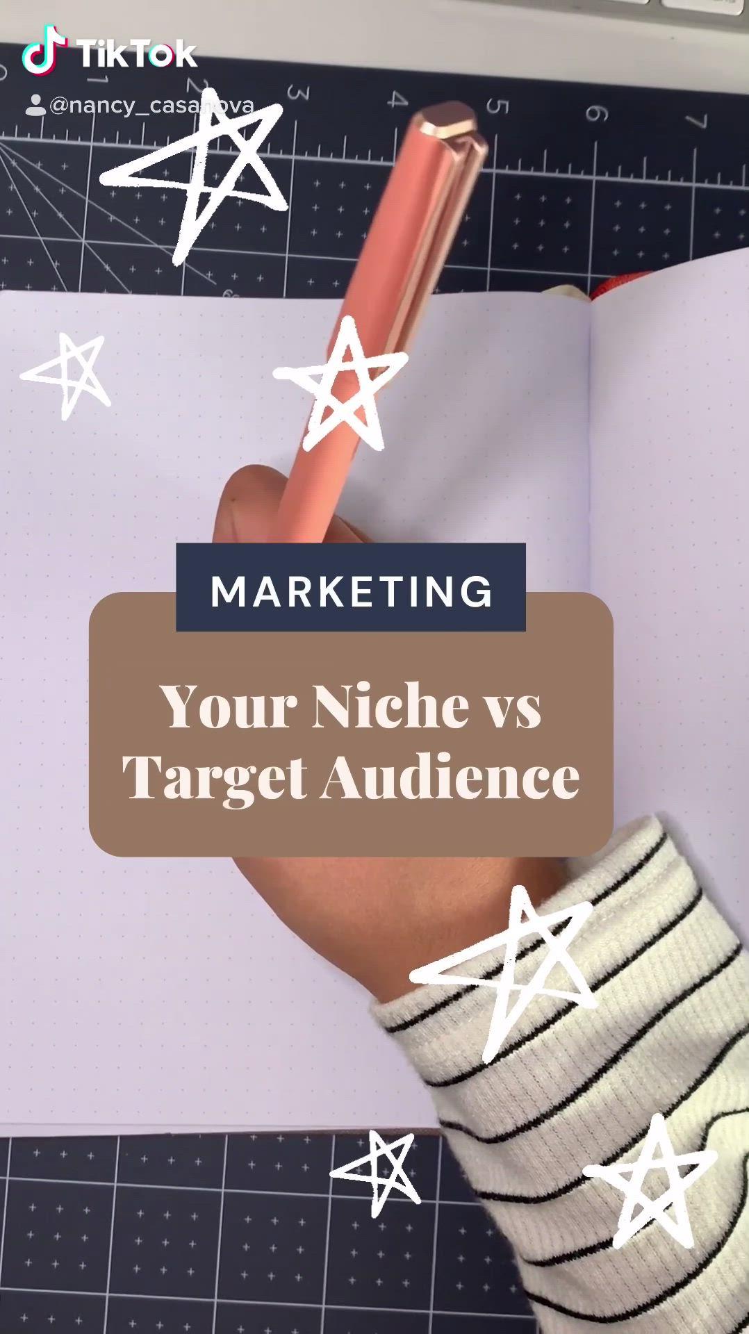 Video Niche Vs Target Audience Di 2021